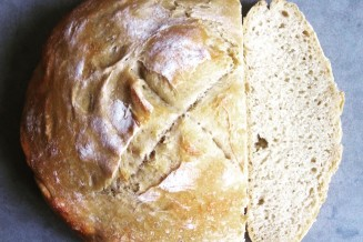 Heerlijk knapperig brood om het weekend mee te beginnen.